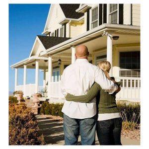 Jackson Tn Couple Admiring A Secure Home